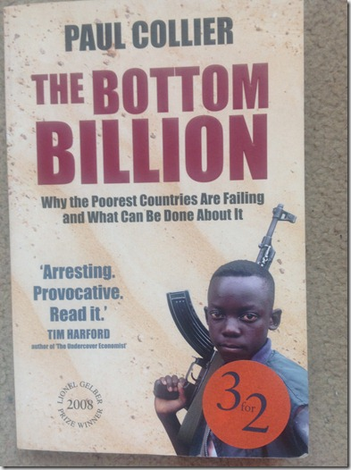 What am i reading?- The bottom billion