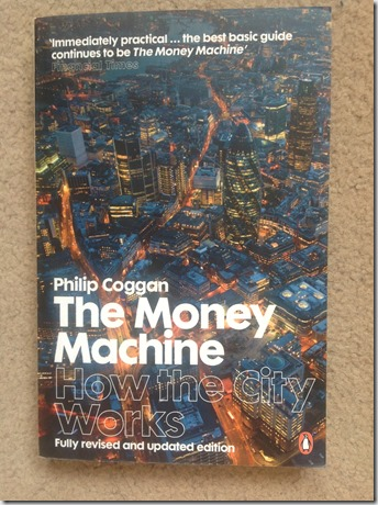 BOOK TO READ- THE MONEY MACHINE