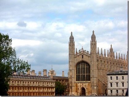 Place to visit- Cambridge