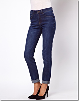 Pear asos straight jeans