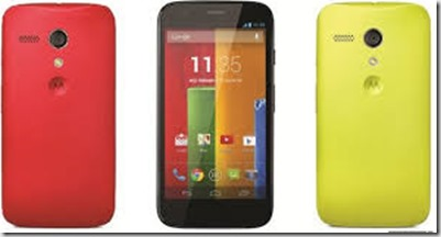 Welcome to the world, Moto G