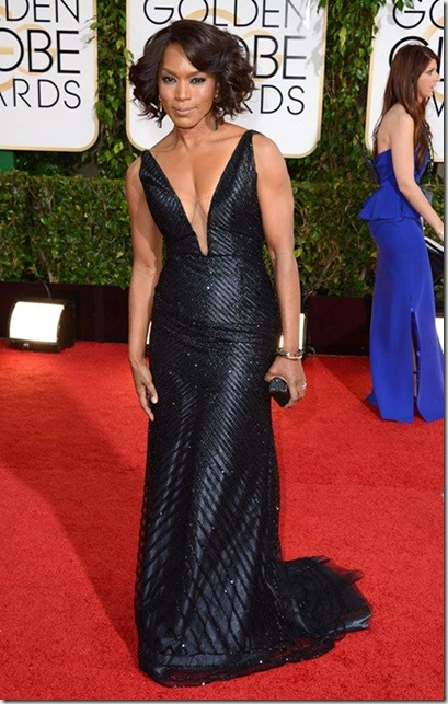 Angela Bassett Golden Globes 2014