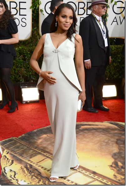 Kerry Washington Golden Globes 2014