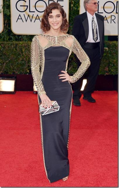 Lizzy Caplan Golden Globes 2014