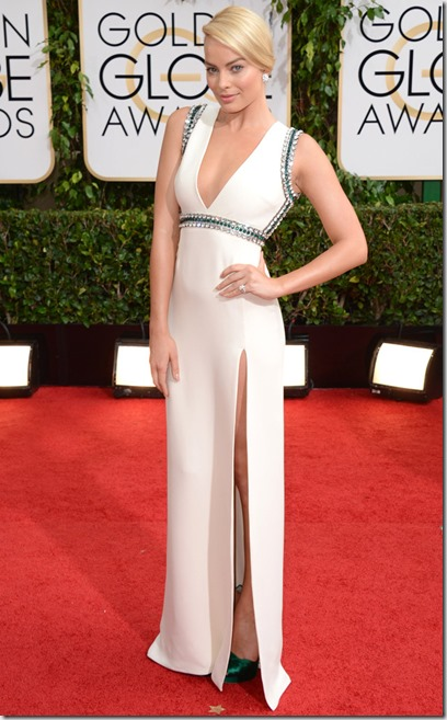 Margot Robbie Golden globes
