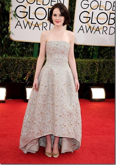 Michelle Dockery Golden Globes 2014