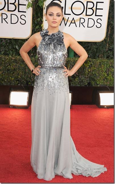Mila Kunis Golden Globes 2014