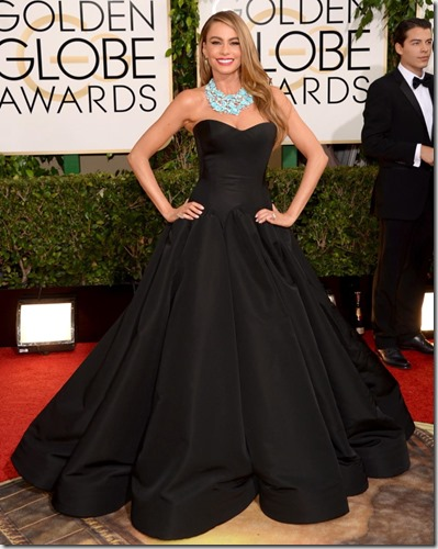 Sofia Vergara Golden Globes 2014