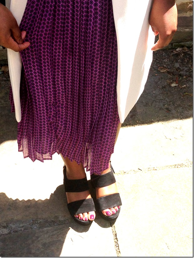 Purple Pleats 1