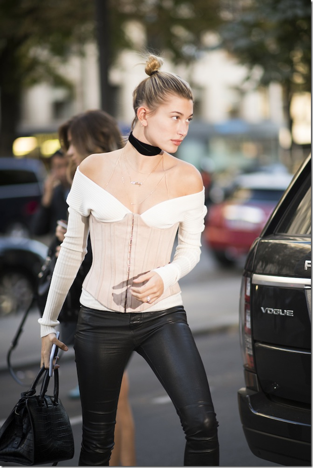The Year of Corset Hailey Baldwin